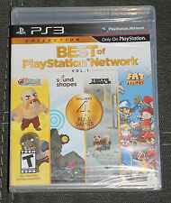 BEST OF PLAYSTATION NETWORK VOL. 1 PS3 FACTORY SEALED (SONY PLAYSTATION 3, 2013)