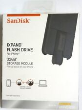 SanDisk iXpand 32GB USB 3.0 Apple Lightning Flash Drive for iphone X/8/7/6/SE/5S