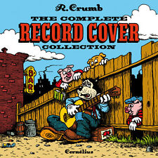 ROBERT CRUMB THE RECORD COVER COLLECTION EUROPEAN HARDCOVER ARTBOOK MORE PAGES Comic Art