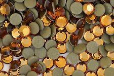 Swarovski hotfix 2012  Topaz  Rhinestones 72 pieces  34ss