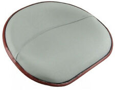 Silver Canvas Covered Pan Seat Fits C, Cub, Cub Lo-Boy, H, HV, M, MD S357520CAN
