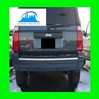 2006-2010 JEEP COMMANDER CHROME TRUNK TAILGATE TRIM MOLDING 2007 2008 2009
