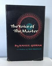 The Voice of The Master by Kahlil Gibran, 1958 Hardback