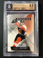 2015-16 Evgeny Medvedev SP Game Used Authentic Rookies /82 Graded BGS 9.5 Gem