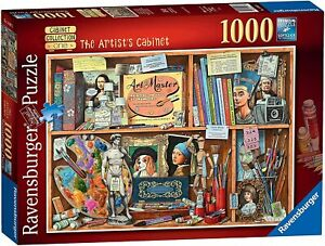 Ravensburger Artist's Cabinet 1000 Piece Jigsaw Puzzle NEW! SHIPS FREE & FAST!