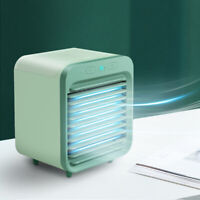 KE_ Mini 5000mAh Rechargeable USB Desk Humidifier Air Conditioner Cooler Cooli