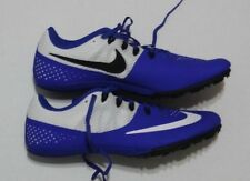 NIKE Racing Sprint Track Cleats White & Royal Blue sz 9.5 / 43 EU