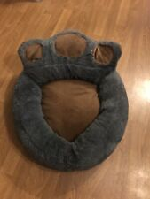 Soft Medium Grey/brown Bear Claw Shaped Dog/cat Bed, Sofa, Mat
