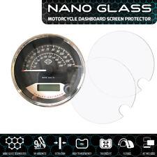 Harley Davidson STREET ROD 500 750 NANO GLASS Dashboard Screen Protector x 2