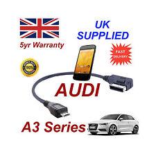 AUDI A3 4F0051510M Câble pour LG Google Nexus 4 MICRO USB Câble Audio