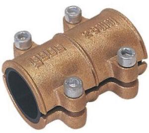 Gebo Messing Dichtschelle 12 15 18 22 28 mm Reparaturschelle Rohrbruchschelle