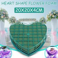 20CM Heart Shape Flower Foam Fresh Floral Party Wedding Car Table Display Gift