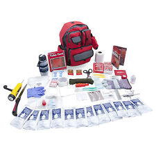 DELUXE 2 PERSON SURVIVAL GEAR KIT-EMERGENCY GRAB AND GO READY PREPPER BACKPACK