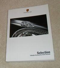 FOLLETO de accesorios de estilo de vida selección de Porsche 2003