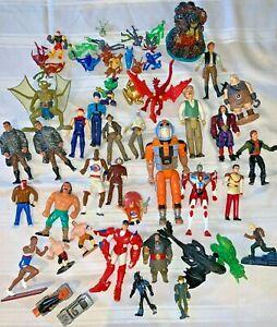 Huge Lot of Toys Action Figures mixed Vtg Junk Drawer DISNEY, BEN-10, PETER PAN