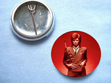 David Bowie Pin Ups Sax 25mm  Badge Mott The Hoople T.Rex  Mick Ronson  Iggy Pop