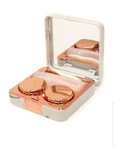 Honbay Fashion Marble Contact Lens Case Portable Contact Lens Box Kit with...
