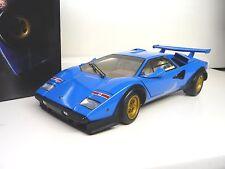 1:18 Kyosho LAMBORGHINI COUNTACH LP500S blue blau WALTER WOLF EDITION NEU NEW