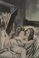 BERTHOMME SAINT ANDRE :  L'adultère  - Lot de 2 EAUX FORTES, 1931