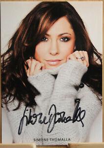 Simone Thomalla Orig Autogramm signiert Schauspiel Tatort - AK