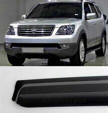 Smoke Wind Rain Window Visor Vent 4pcs Kit For 2008-2014 Kia Borrego : Mohave