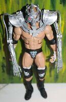 WWE Triple H Action Figure Mattel Elite Series 42 W/ Terminator Outfit