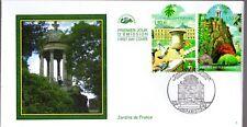 3606/7+ FDC  ENVELOPPE 1er JOUR CEF JARDINS  DE  FRANCE