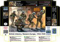 Master Box 3585 - British Infantry. Western Europe. 1944-1945 WWII 1/35 scale