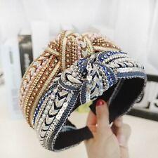 1pcs Hair Hoop Headband Knotted Sequin Handmade Headband Women Girls Headwear