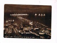 napoli navi da guerra nel porto spedita  1950 notturno