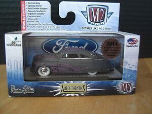 M2 Machines 1949 Matte grey Mercury 49 Merc super Chase 1/64 Diecast 1 of 252pc