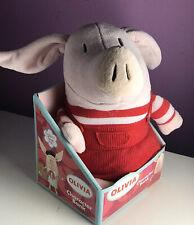 NIP OLIVIA THE PIG Plush Toy CHARACTER BANK Ian Falconer Nick Jr