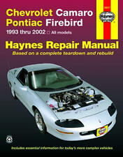 Chevrolet Camaro Pontiac Firebird Haynes Repair Manual for 1993 - 2002 #24017
