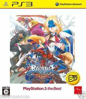 Used PS3 Blazblue: Continuum Shift Exte SONY PLAYSTATION 3 JAPAN JAPANESE IMPORT
