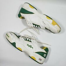 VERY RARE VINTAGE BJORN BORG BY DUNLOP TENNIS SHOES SIZE EUR 42 GREEN YELLOW