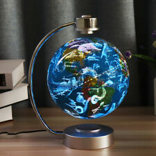 8 Inches Magnetic Levitation Floating Globe Constellation Light Desk Lamp Decor