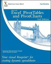 NEW! Visual Blueprint: Excel PivotTables & PivotCharts-Your Visual Blueprint for