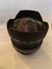 Sigma 14mm F3.5 Prime Lens Nikon Fit