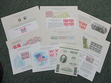KAPPYSSTAMP KS-1136 COLLECTION OF 12 PHILATELIC SOUVENIR CARDS RETAIL $75.00
