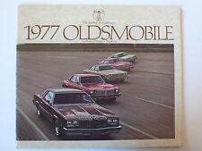 Prospekt 1977 Oldsmobile Cutlass, Omega, Starfire, 28 Seiten, englisch aus USA