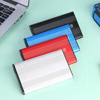 3TB USB 3.0 Hard Drive Disk External Enclosure 2.5 inch SATA HDD SSD Mobile Case