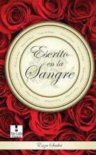 Escrito en la Sangre by Enza Scalici (2013, Paperback)