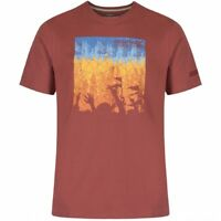 Regatta Mens Cline Coolweave Light Soft T-Shirt Cowhide S