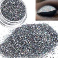 New Girl 8g Sparkly Makeup Glitter Loose Powder EyeShadow Silver+Gold Eye Shadow
