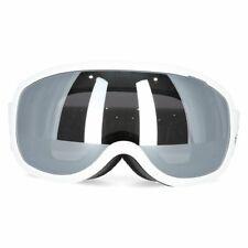 NEUF Masque de ski TRESPASS HAWKEYE UV400 snowboard surf neige blanc gris