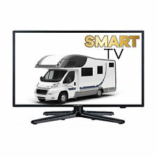 LED Smart TV 19 Zoll mit DVB-S2 /C/T2 für 12V/24V u. 230 Volt WLAN B-Ware