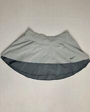 Nike Dri Fit Women's Gray Tennis Skirt Size XS