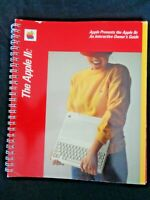Red 1983 Apple IIc Computer Spiral Bound Interactive Owners Guide Manual Book II