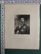1844 DATED ANTIQUE PRINT ~ EDWARD DUKE OF KENT & STRATHEARN