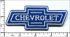 30 Pcs Embroidered Iron on patches Chevrolet Chevy Blue AP063cV3